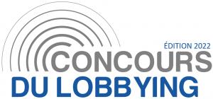 Logo de l'édition 2022 du Concours du Lobbying